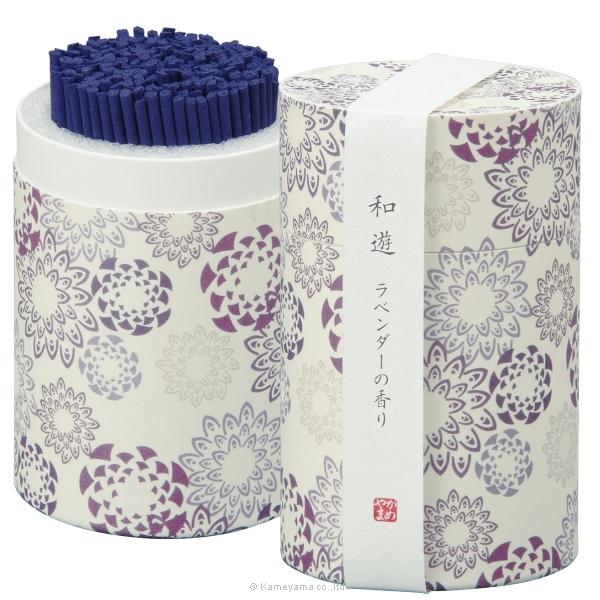 和遊 ラベンダーの香りミニ寸筒箱