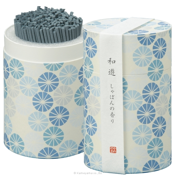 和遊 しゃぼんの香りミニ寸筒箱
