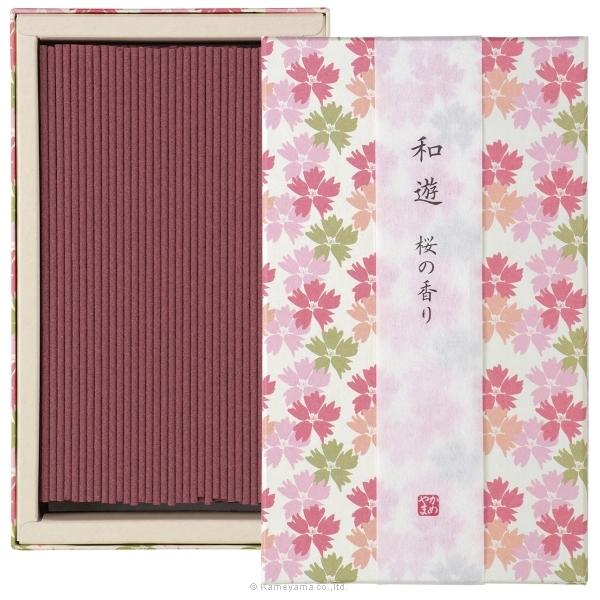 和遊 桜の香り平箱
