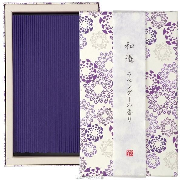 和遊 ラベンダーの香り平箱