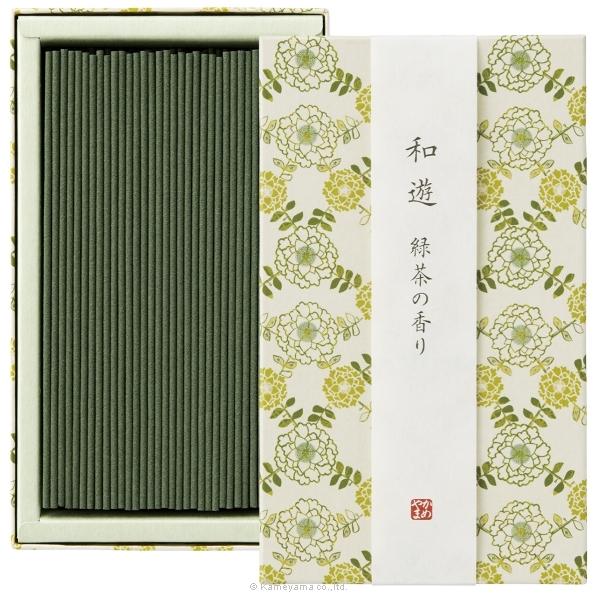 和遊 緑茶の香り平箱
