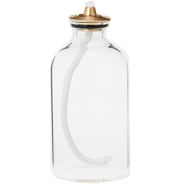 ガラスボトルショート(オイルキャンドル用)