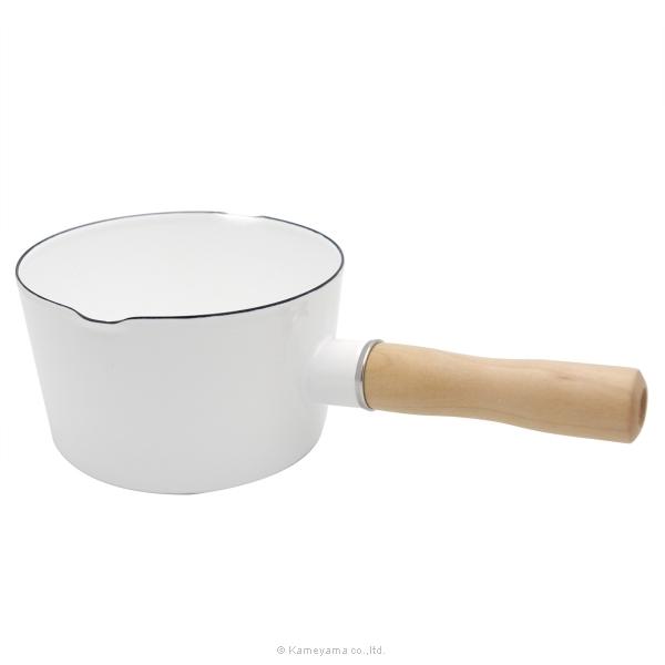 ホーローソースパン ナチュラル(片手鍋)